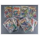 39pc Bronze Age Avengers Comic Books