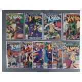 Bronze Age X-Men #142-151 Comic Run