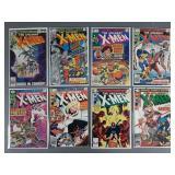 8pc Bronze Age X-Men Comic Books w/ #120