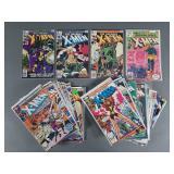42pc Bronze Age Uncanny X-Men Comic Books