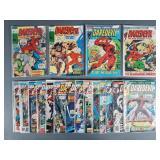 18pc Bronze Age Daredevil Comic Books