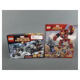 2pc Lego Marvel Sets SEALED w/ Hulkbuster 76104