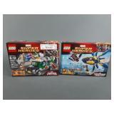 2pc Lego Marvel Set SEALED w/ Ultimate Spiderman