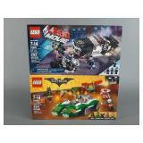 2pc Lego Movie & Batman Movie Sets SEALED