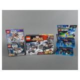5pc Lego Sets NIP w/ Dimensions, Star Wars