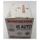 45 Auto (100 Rounds) New Factory