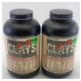 (2) 1Lb Hodgdon Clays Powder