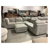 6 Pc Fabric Modular Sectional Sofa