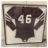 36 x 36 Framed Vintage Jersey