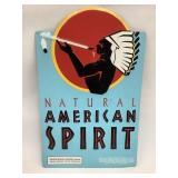 12 x 19 Metal American Spirit  Sign