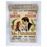 Mrs Parkington Movie Poster14 x 20