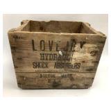 16 x 12 x 11 Lovejoy Wood Box