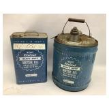 Wards Vitalized Motor Oil Cans