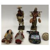 Figurines, Vintage Dolls & Souvenirs