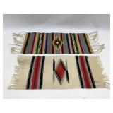 (2) 12 x 10 Table Runners