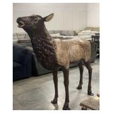 Life Size Cast Aluminum Cow Elk