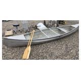 Michi-Craft 15ft Aluminum Canoe