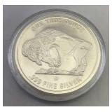 1 Troy Oz Fine Silver