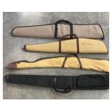 (4) Soft Sided Gun Cases