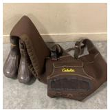 Cabelas Size 12 Insulated Chest Waders