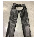River Road Leather Chaps, Size Small