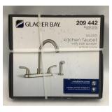 Glacier Bay Kitchen Faucet w/ side Sprayer