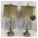 Pair of 36 in Table Lamps