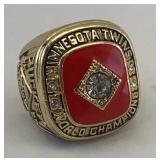 Minnesota Twins World Series Ring