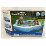 Summer Waves 110 x 100 x 26 Inflatable Pool