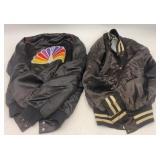 2 Vintage NBC Swan Jackets