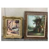 Victorian Print & C Fario Oil