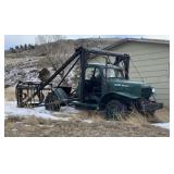 Dodge Power Wagon Converted To Hay Lift