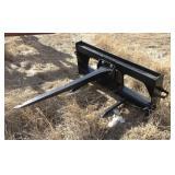 John Deere Bale Spear Skid Steer Attachment