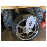 Set Of (4) Rims & Tires