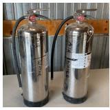 (2) Water Air Extinguishers
