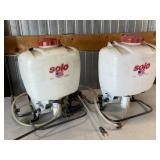 (2) Solo Backpack Sprayers