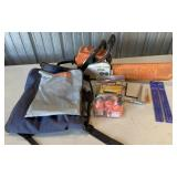 Stihl 017 Chain Saw And Accesories