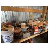 Large Lot Of Nuts, Nails, Screws And Misc Hardware