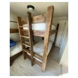 Twin Bunk Bed & Mattresses
