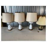 4 Vintage Lamps