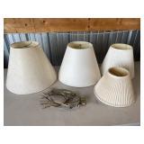 Lamp Shades And Harps