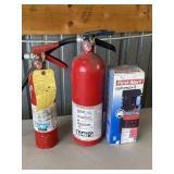 3 Household Fire Estinguishers