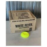 7 New Boxes Of White Flyers Clay Targets X7