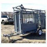 Pearson Squeeze Chute With Trailer