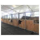 Set Of (6) Behlen Mfg Galvanized Box Stalls