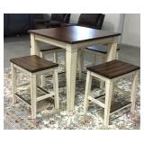 5 pc table & chairs