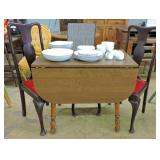 Drop Leaf Table W/Chairs