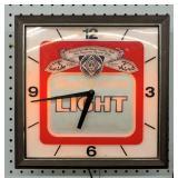 Budweiser Clock/Light