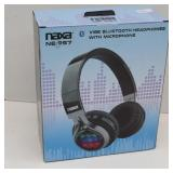 NAXA NE-957 VIBE Bluetooth Headphones w Microphone
