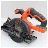 "Black & Decker 5-1/2"" Cordless 20V Circular Saw"